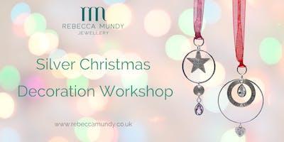 Silver Christmas Decoration Workshop