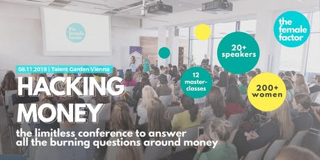 hacking money | the limitless conference by the female factor tickets