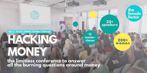 hacking money | the limitless conference by the female factor