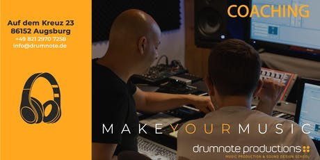 Professionelles Coaching in Musikproduktion billets