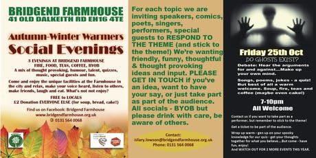 Farmhouse Community Social tickets