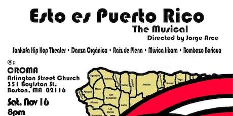 Esto es Puerto Rico The Musical tickets