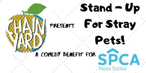 Stand - Up For Stray Pets! A Comedy Benefit For SPCA NS