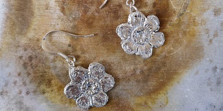 Silver Clay Workshop (make a pair of earrings and a pendant) tickets