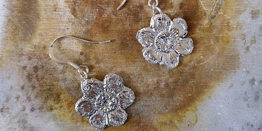 Silver Clay Workshop (make a pair of earrings and a pendant)