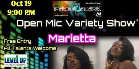 Art Out Loud ATL: Open Mic Variety Show-Marietta tickets
