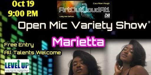 Art Out Loud ATL: Open Mic Variety Show-Marietta