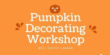 Pumpkin Decorating Workshop tickets