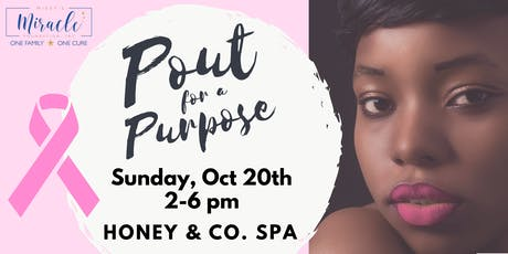 Pout for a Purpose w/ My Lipp Beauty tickets
