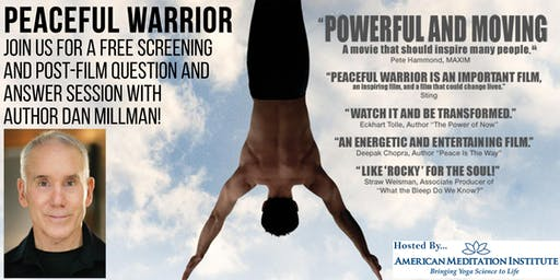 Peaceful Warrior - An Evening w/ Dan Millman