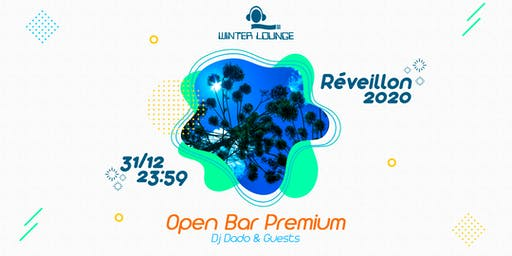 REVEILLON 2020 - Open Bar Premium @ WINTER LOUNGE - CAMPOS DO JORDÃO