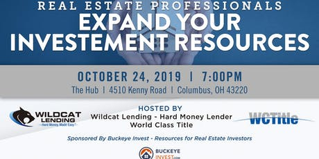 Expand Your Investment Resources - Mixer tickets