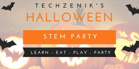 Halloween STEM Party  (Ages 4 -17) tickets