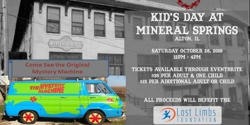 Kids Day at Mysterious Mineral Springs Mall