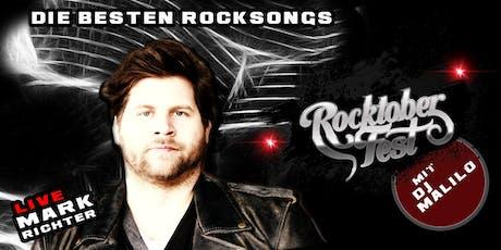 Rocktoberfest mit Mark Richter LIVE und DJ Malilo - Die besten Rocksongs tickets