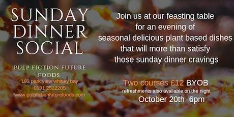 Sunday Dinner Social tickets
