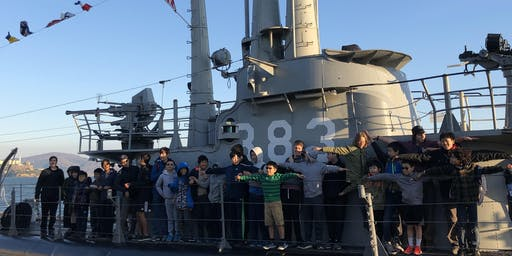 Overnight on the USS Pampanito - WWII Submarine docked in San Francisco