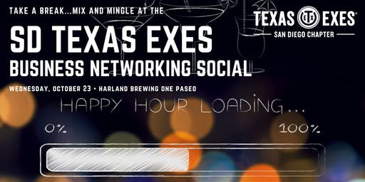SD Texas Exes Business Networking Social (Del Mar)