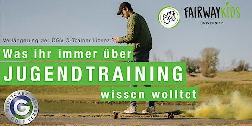 1. Fairwaykids Workshop - Verlängerung DGV C-Trainer Lizenz