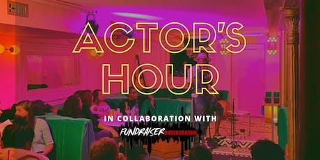 Actor's Hour - A Speakeasy for Artists! (Fundraiser Underground Edition) tickets