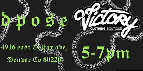 DPOSE SHOWCASE @ VICTORY CLOTHING BOUTIQUE tickets