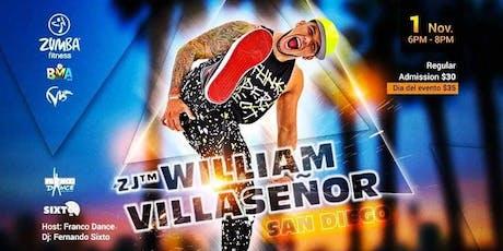Zumba Máster Class William Villasenor tickets