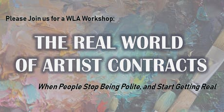 Workshop: The Real World of Artist Contracts tickets