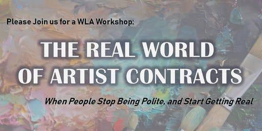 Workshop: The Real World of Artist Contracts
