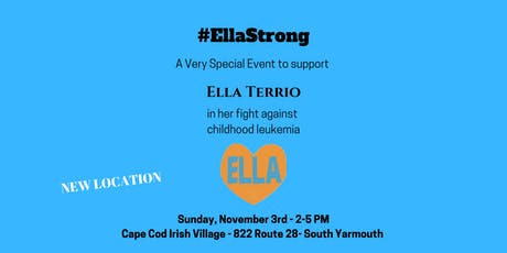 #EllaStrong to Benefit Ella Terrio tickets