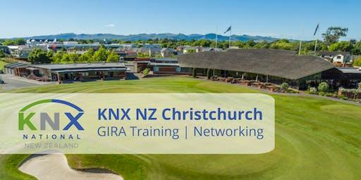 KNX NZ Christchurch GIRA Training & Networking
