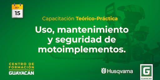 Uso, mantenimiento y seguridad de motoimplementos