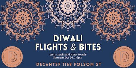 Diwali @ DECANTsf!  Flights, Bites, and a Festival of Lights! tickets