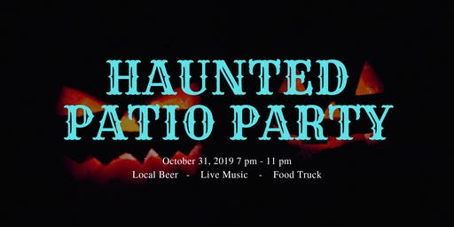 Haunted Patio Party