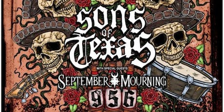 Sons of Texas / September Mourning at The Pin tickets
