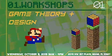 01. Workshops: Game Theory and Design tickets