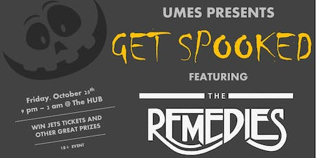 UMES Get Spooked Social tickets