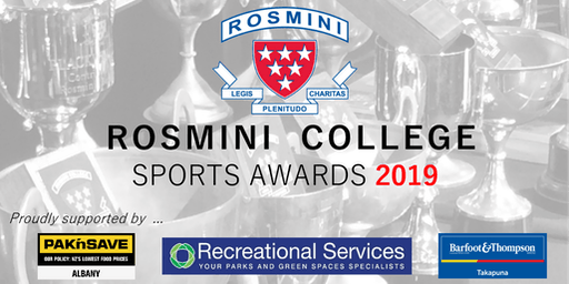 Rosmini College Sports Awards Dinner 2019
