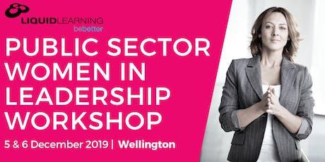 Public Sector Women in Leadership Workshop tickets