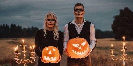 Halloween/ Gothic Styled Wedding Shoot