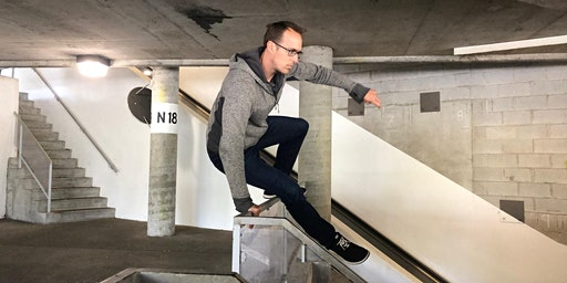 Sunday Parkour with Ian Schwartz: Drop-In Community Class