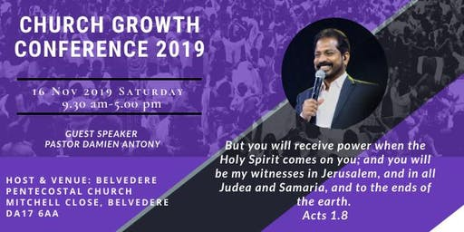 Church Growth Conference 2019
