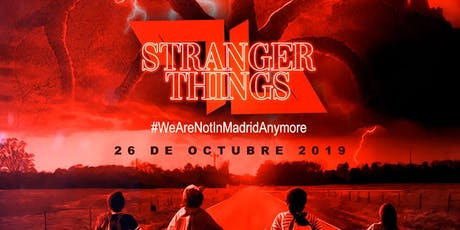 Halloween Party-Stranger Things Edition entradas