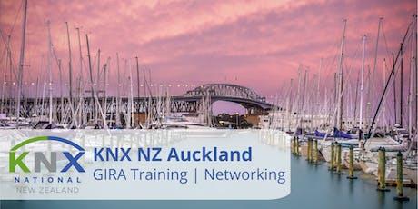 KNX NZ Auckland  -  GIRA Training & Networking tickets