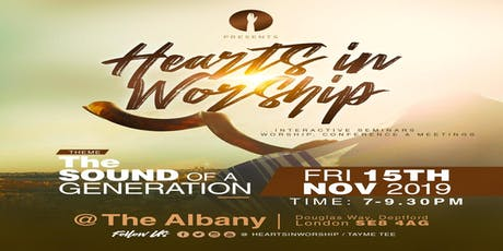 Hearts In Worship tickets
