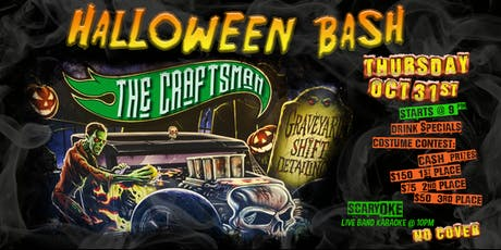 Halloween Bash With Live Band Karaoke & Costume Contest (CASH PRIZES) tickets