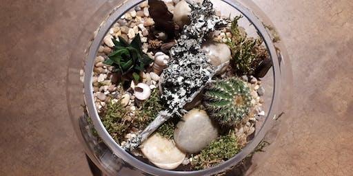 Succulent Terrarium Workshop - Hunter's Public House