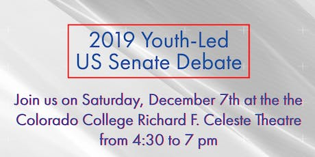 Youth-Led US Senate Candidate Debate tickets