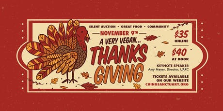 A Very Vegan Thanksgiving Dinner & Fundraiser tickets
