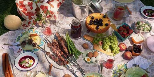 A Russian Table with the Happy Food Supper Club