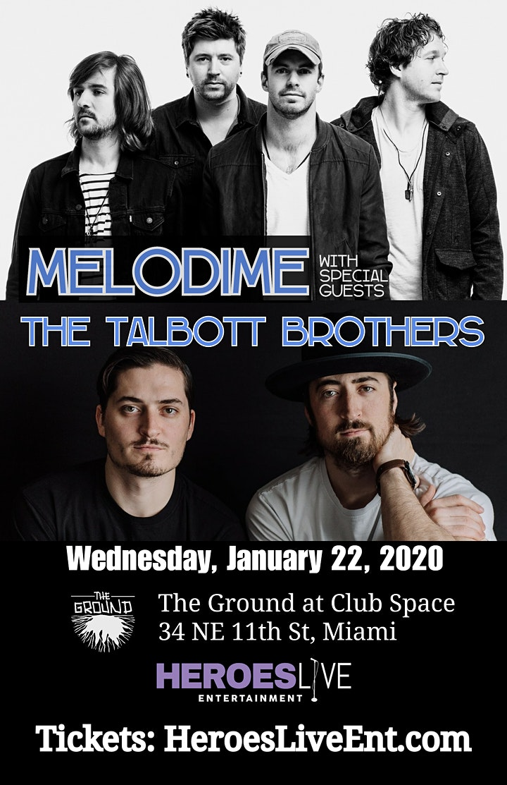 Melodime + The Talbott Brothers image
